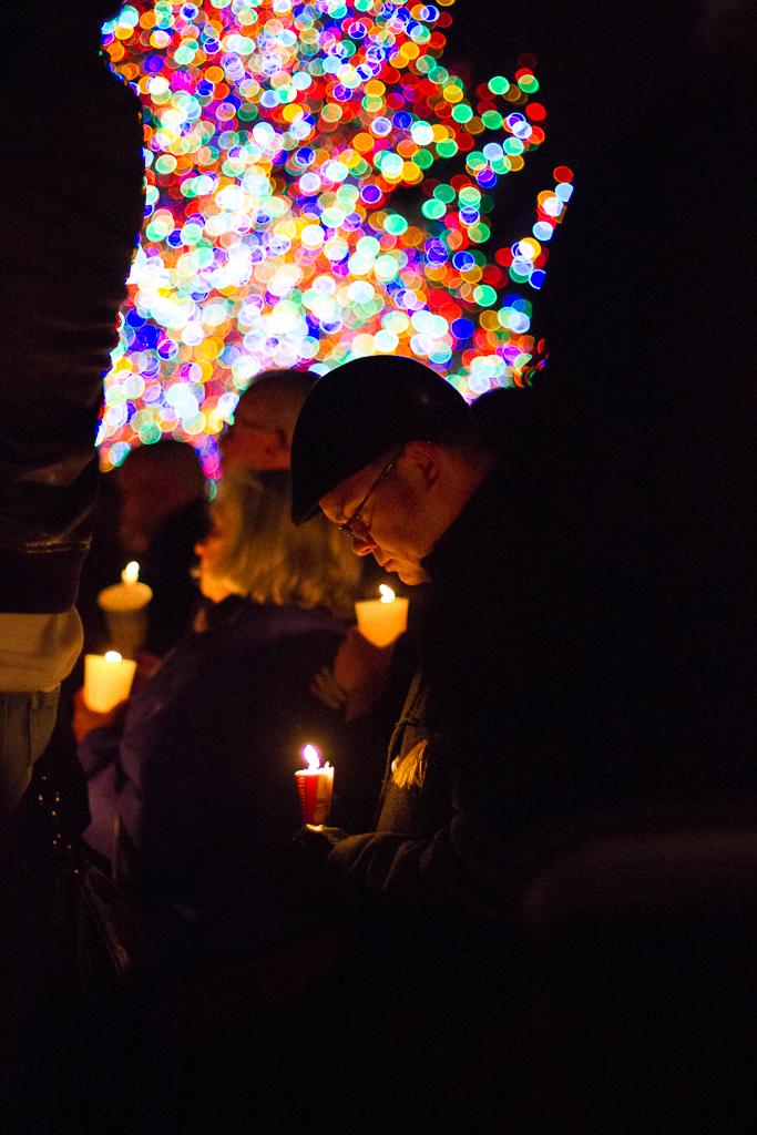 Vigil in New Haven for Sandy Hook Elementary School